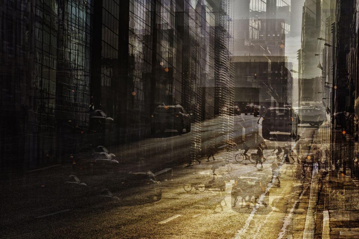 Kunst: Rising Sun van kunstenaar Thomas Vanoost