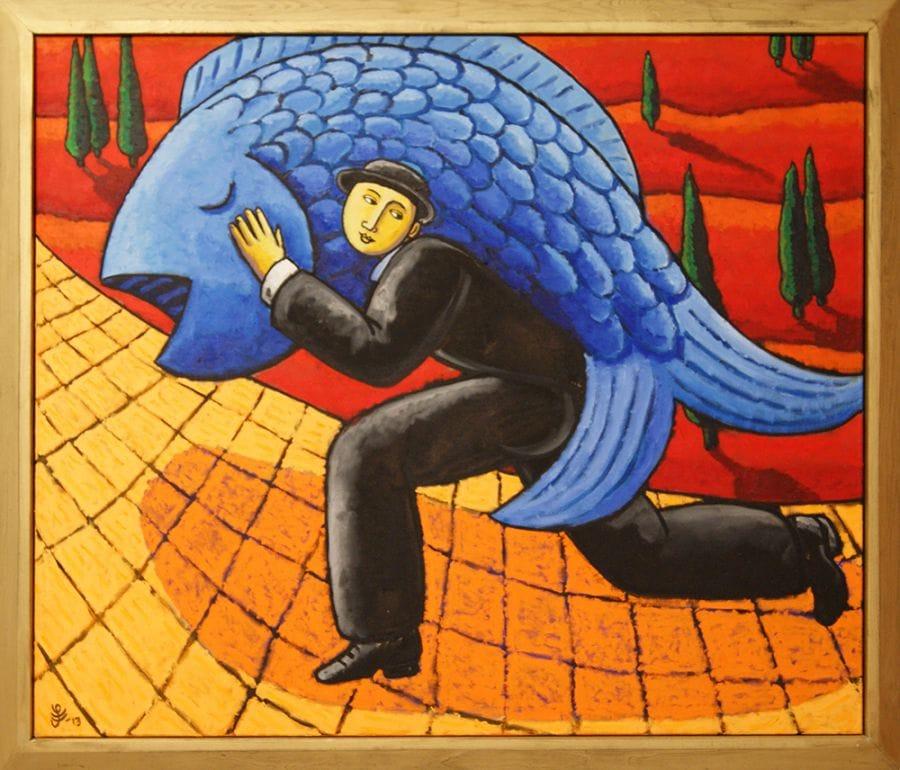 Kunst: Risky Business van kunstenaar Jacques Tange