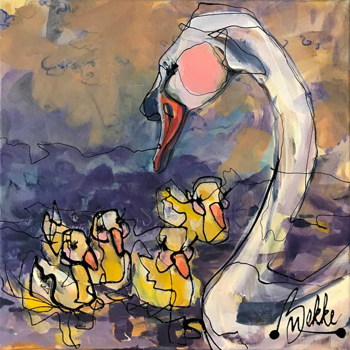 Kunst: Romantico Mami van kunstenaar Marieke Bekke