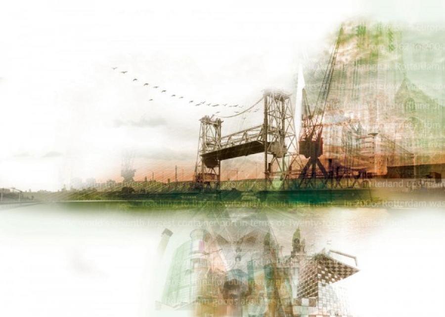 Kunst: Rotterdam van kunstenaar Kim Heesakkers