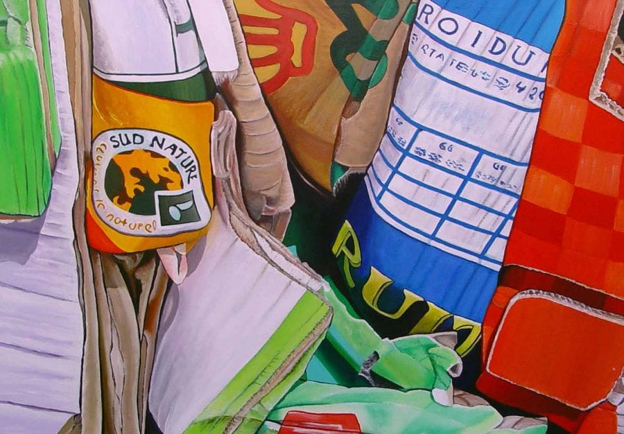 Kunst: Rummage van kunstenaar Ella Joosten