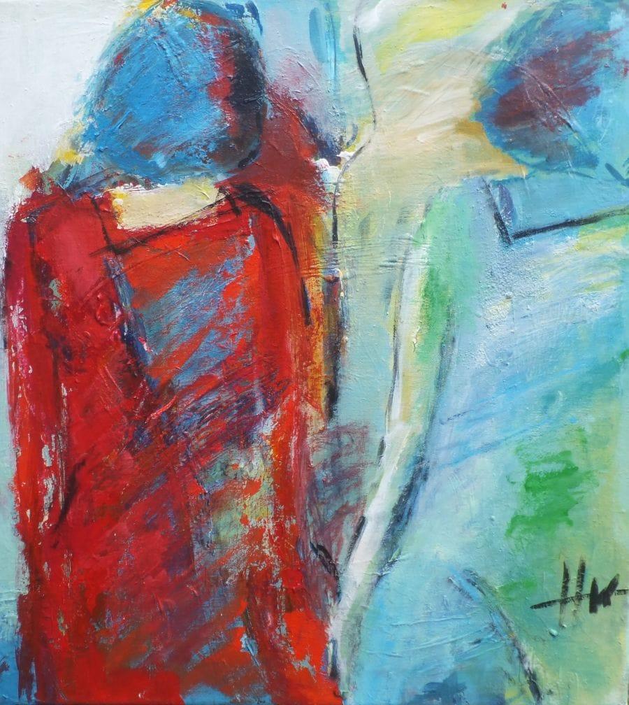 Kunst: Samen van kunstenaar Heleen Wilke