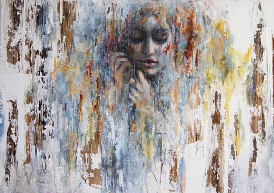 Kunst: Scent of a woman van kunstenaar Evelyn Hamilton