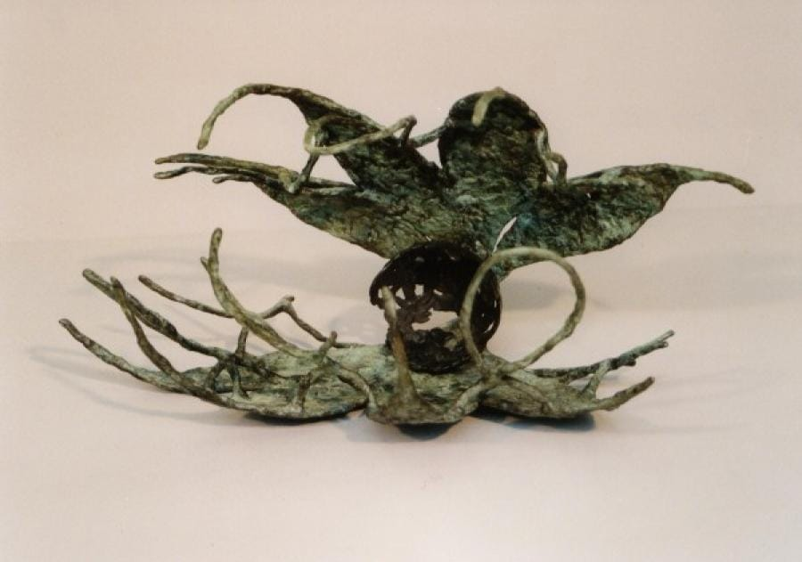 Kunst: Schelp (Tina Lintvelt) van kunstenaar Tina Lintvelt