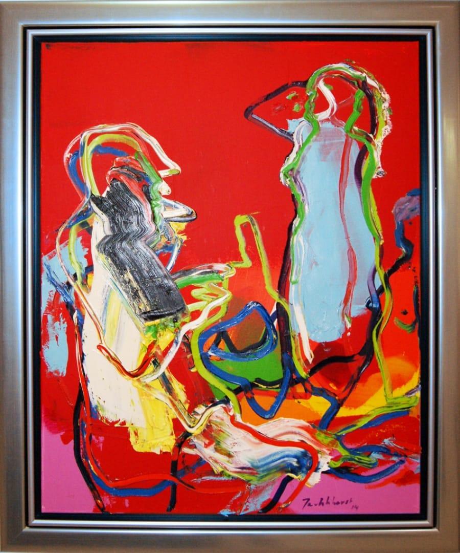 Kunst: Schilder en Model van kunstenaar Jan van Lokhorst