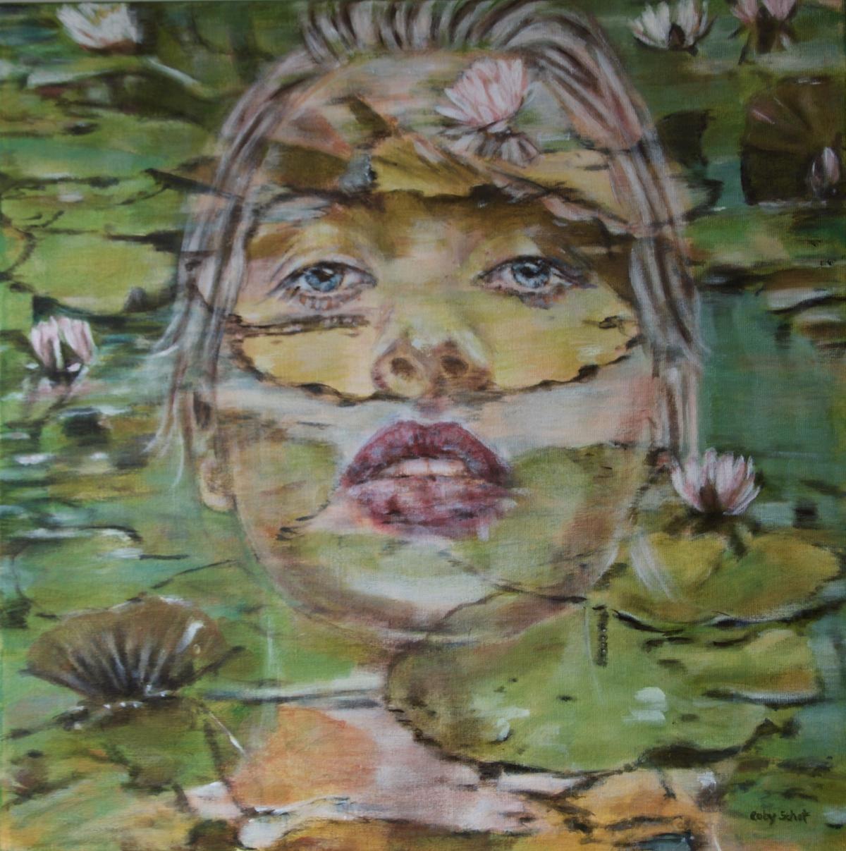 Kunst: 'Selfreflection' II van kunstenaar Coby Schot