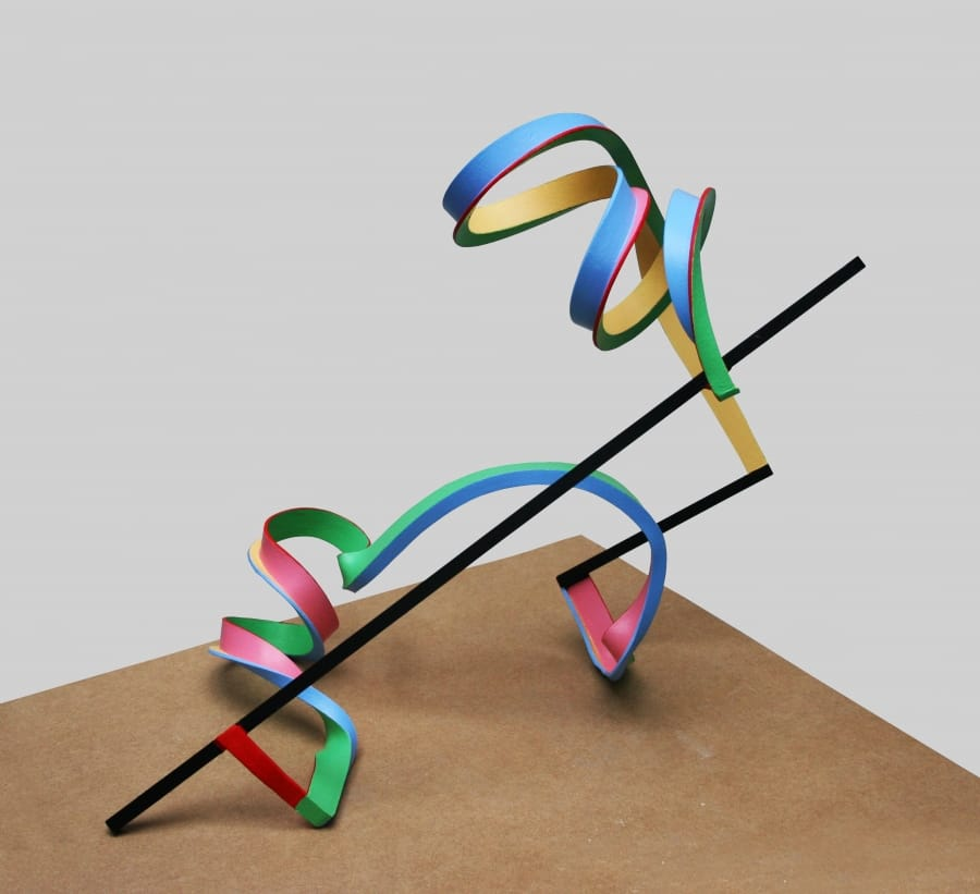 Kunst: Serpentine 10 van kunstenaar Frans Muhren