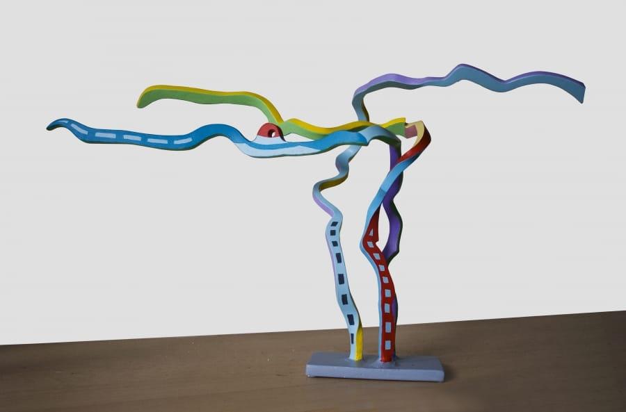 Kunst: Serpentine 19 van kunstenaar Frans Muhren