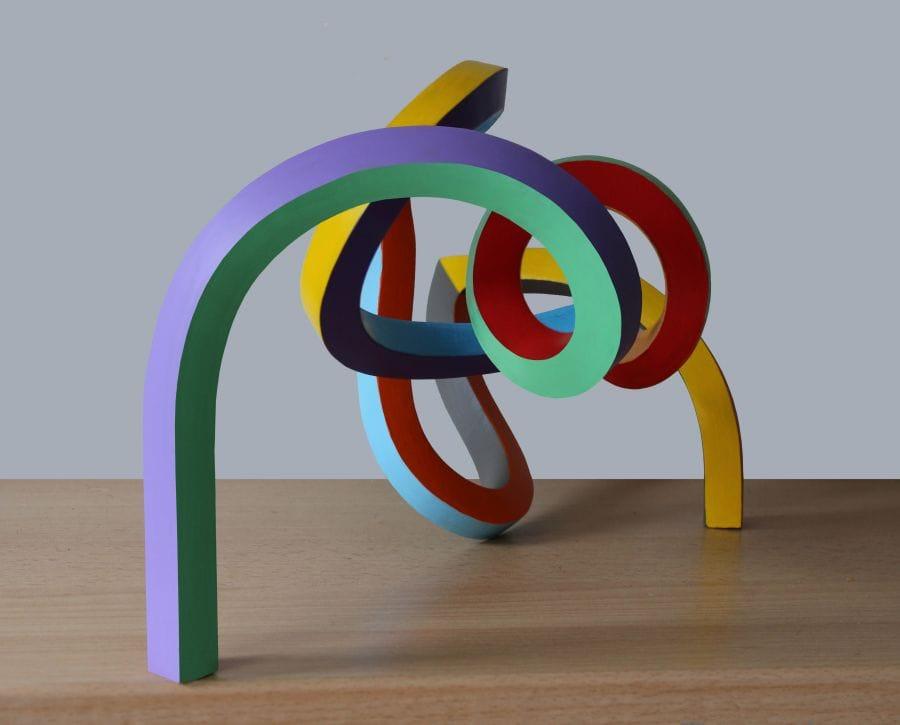 Kunst: Serpentine 24 van kunstenaar Frans Muhren