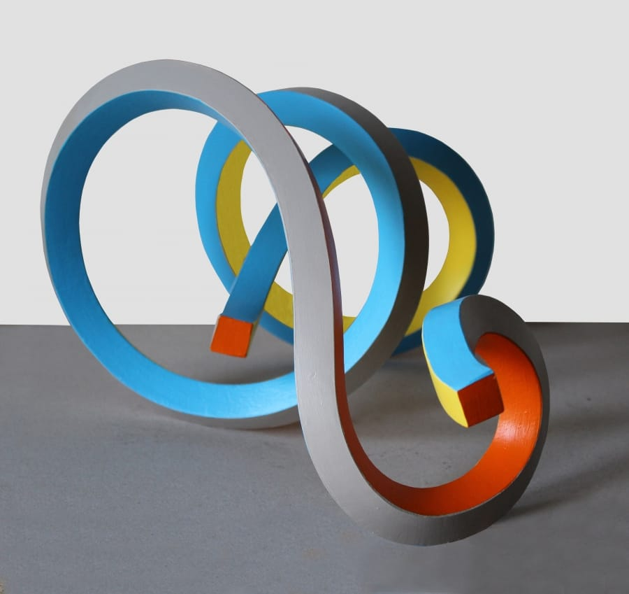 Kunst: Serpentine 33 van kunstenaar Frans Muhren
