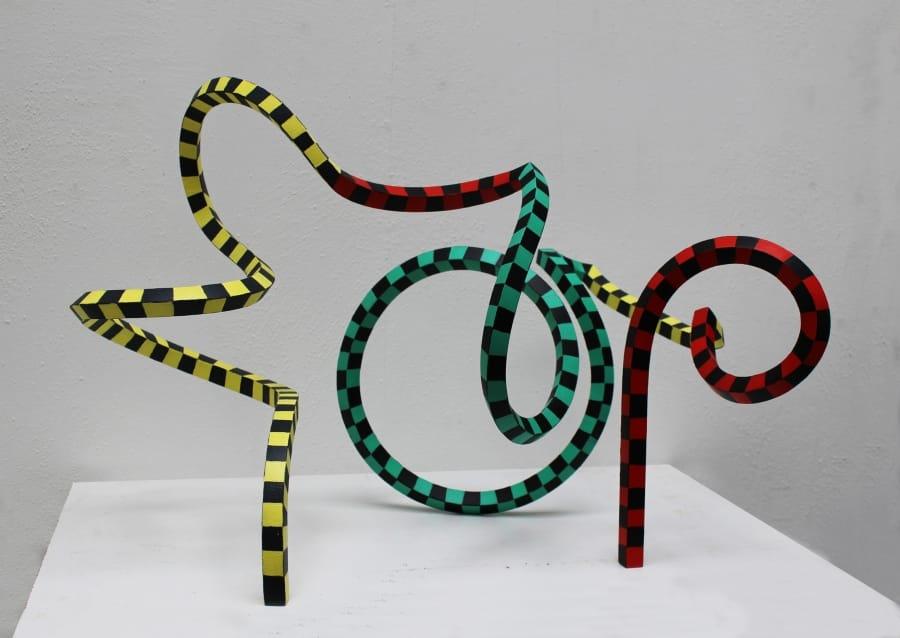 Kunst: Serpentine 35 van kunstenaar Frans Muhren