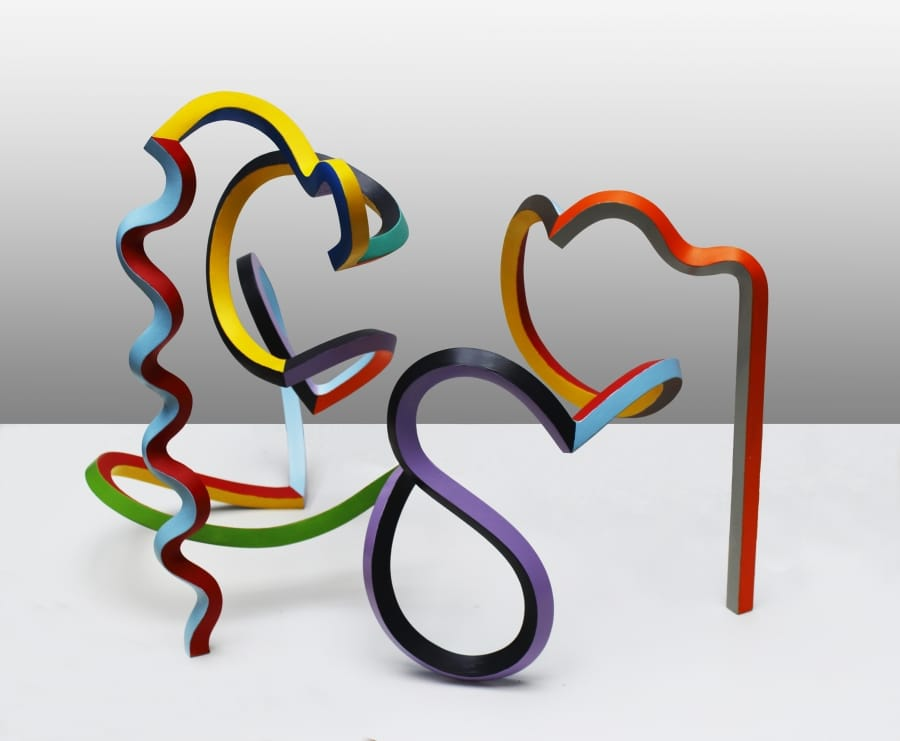 Kunst: Serpentine 36 van kunstenaar Frans Muhren