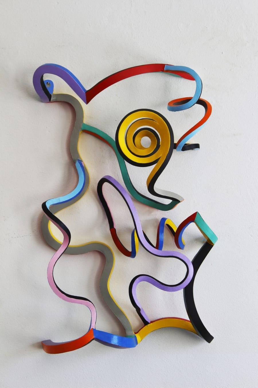 Kunst: Serpentine 38 van kunstenaar Frans Muhren