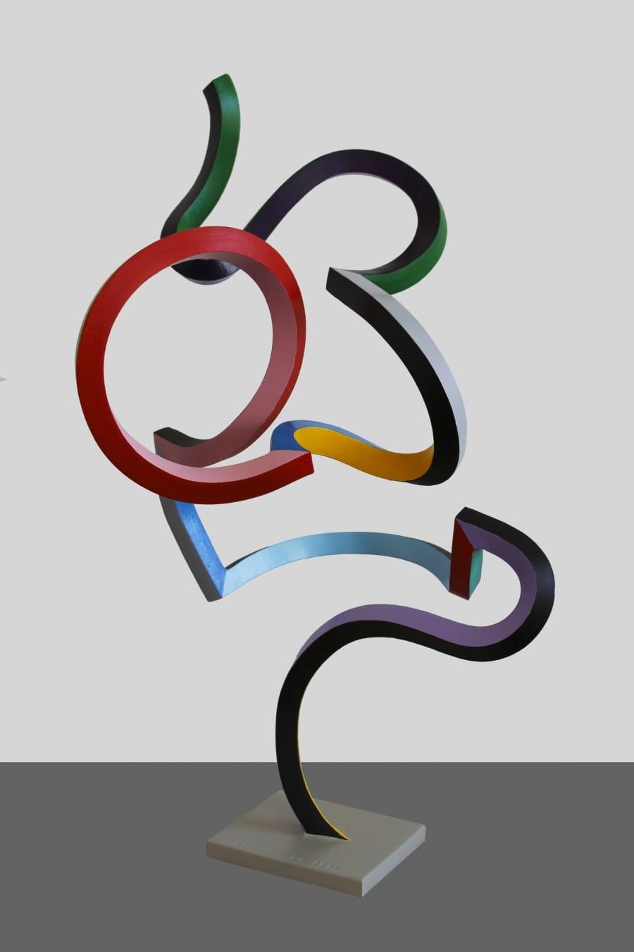 Kunst: Serpentine 39 van kunstenaar Frans Muhren