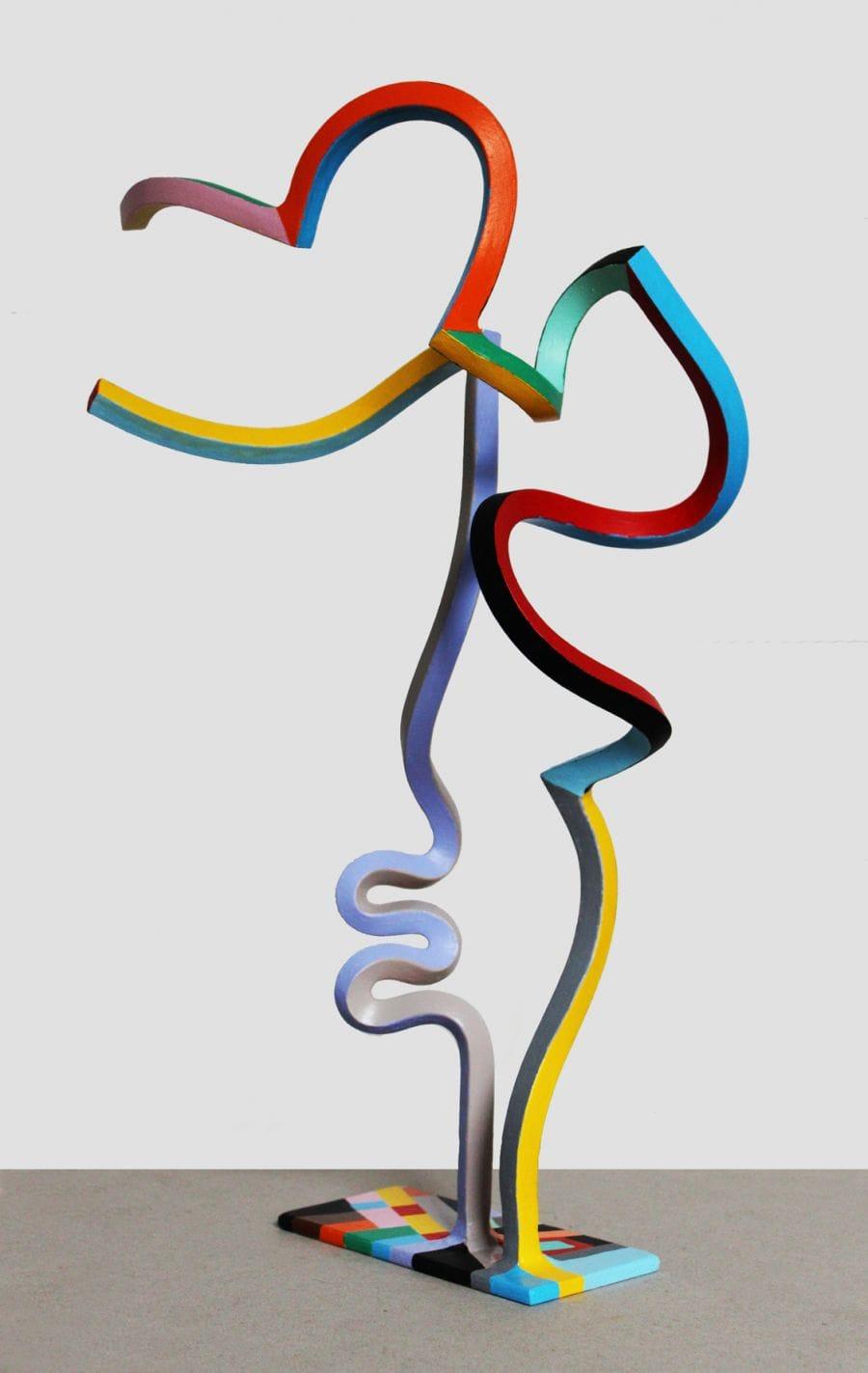 Kunst: Serpentine 43 van kunstenaar Frans Muhren