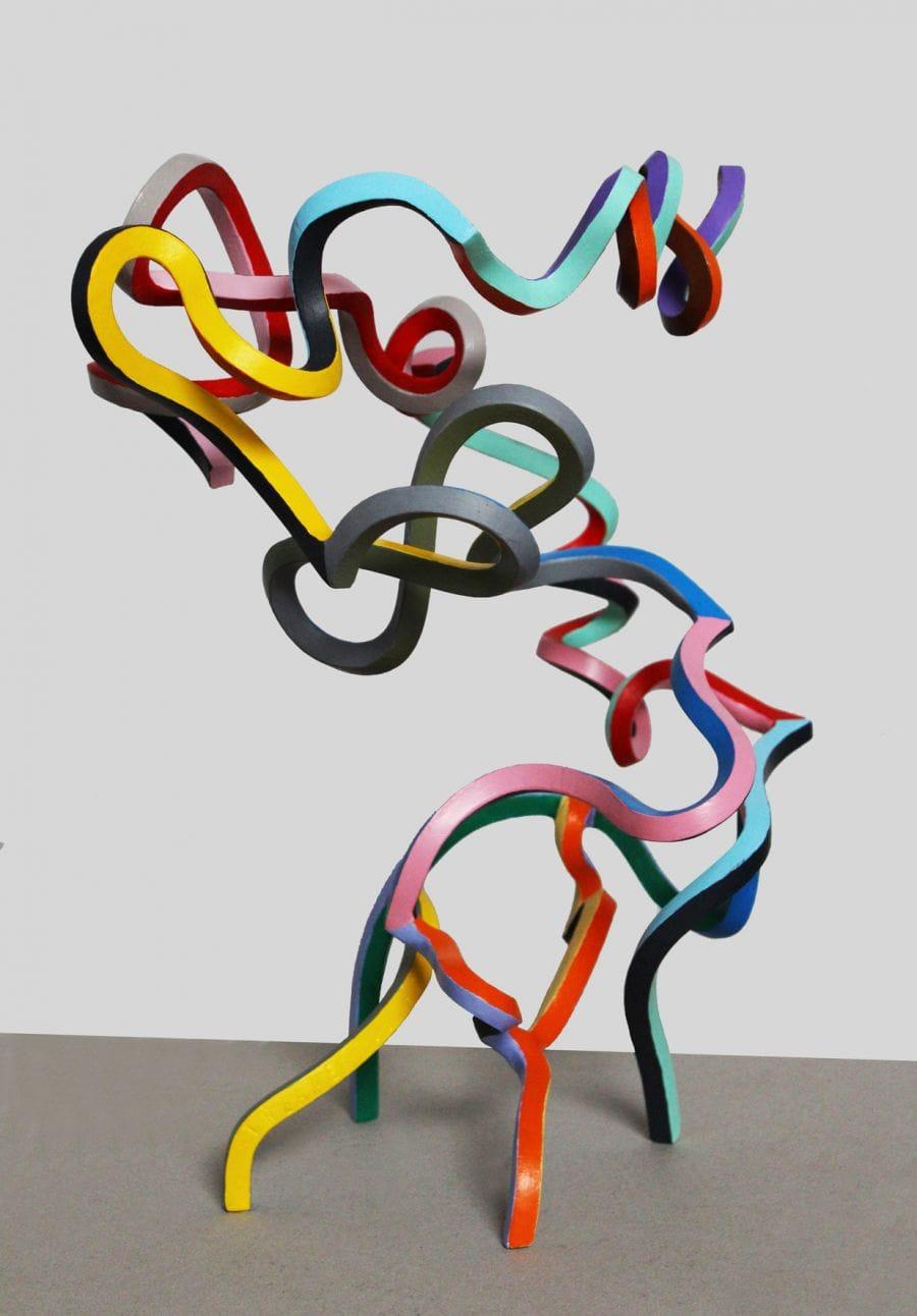 Kunst: Serpentine 45 van kunstenaar Frans Muhren