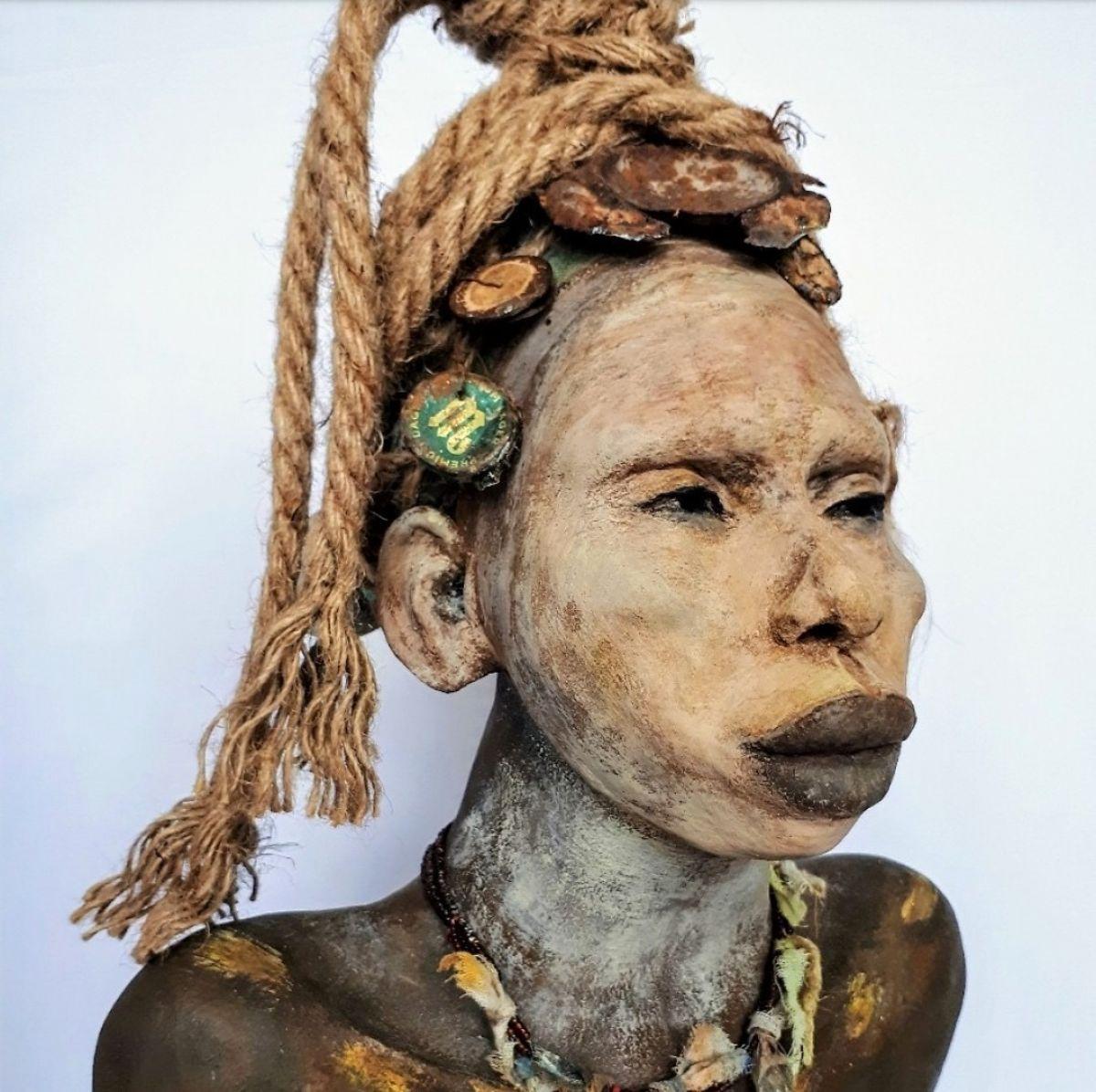 Kunst: Shani – Prachtig van kunstenaar Lilian Wessels