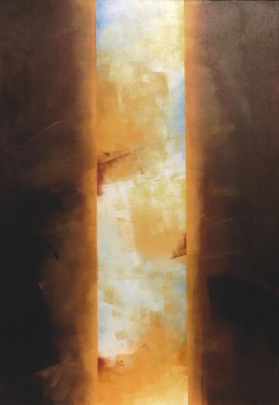 Kunst: sienna en omber van kunstenaar Koeno Jansen