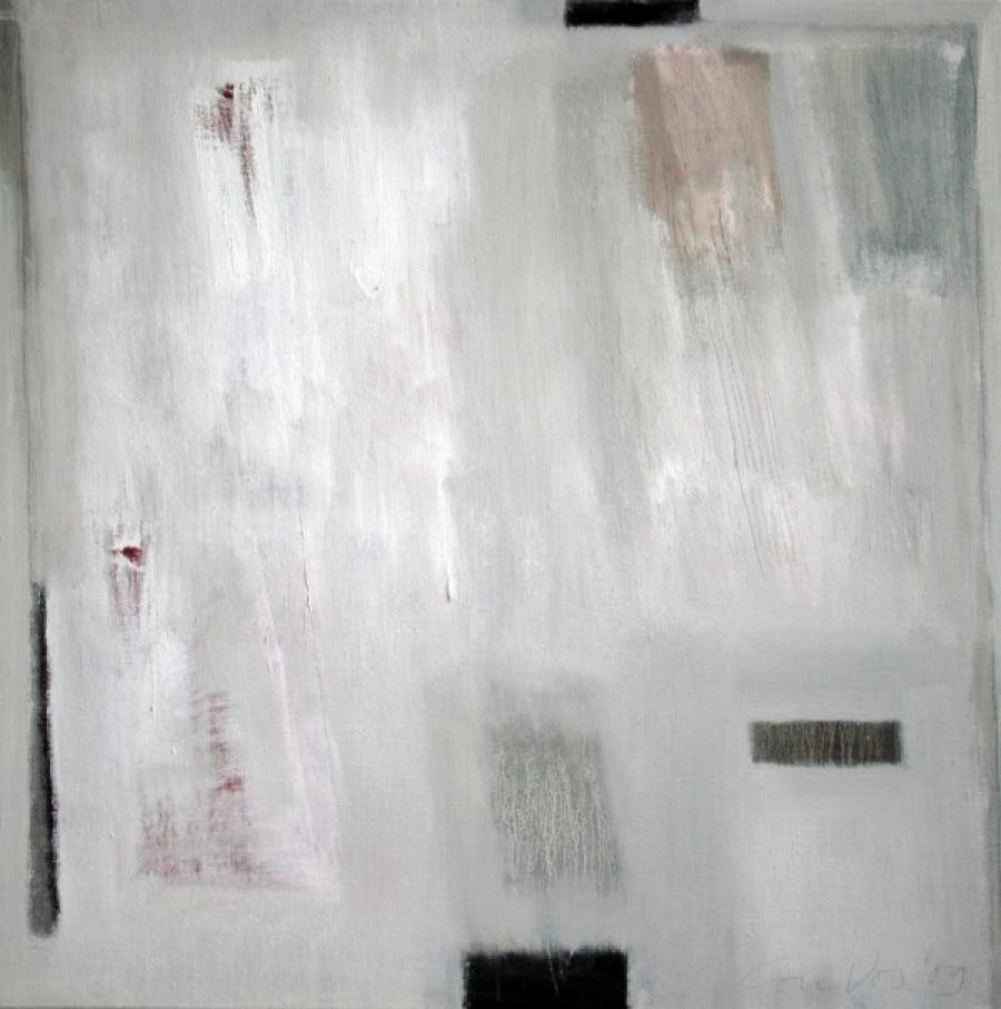 Kunst: Silent landscape van kunstenaar Lou Vos