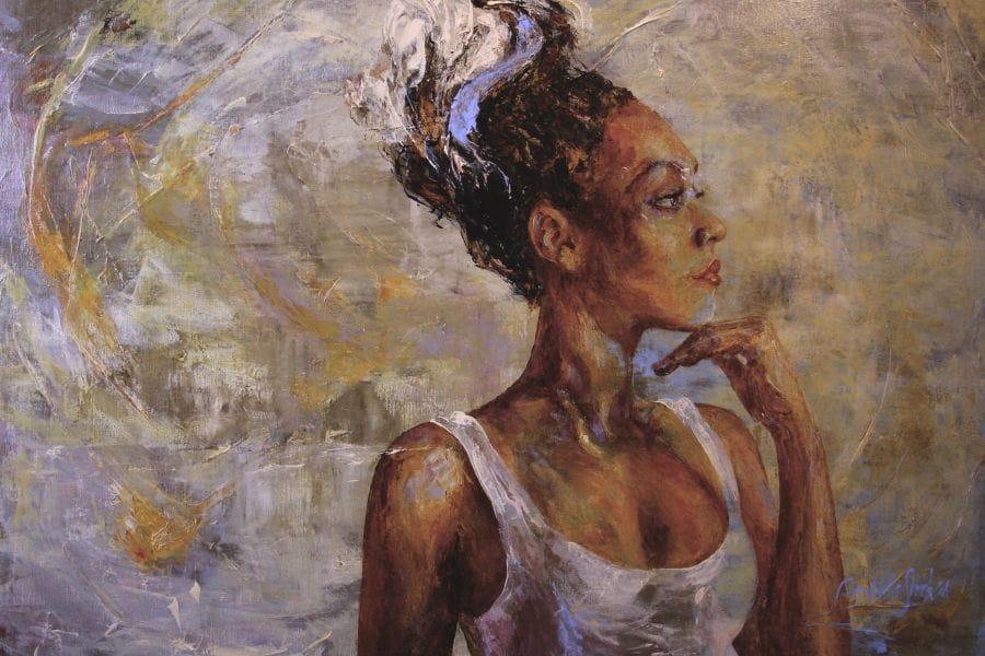 Kunst: Silvery van kunstenaar Bernadette Sterk