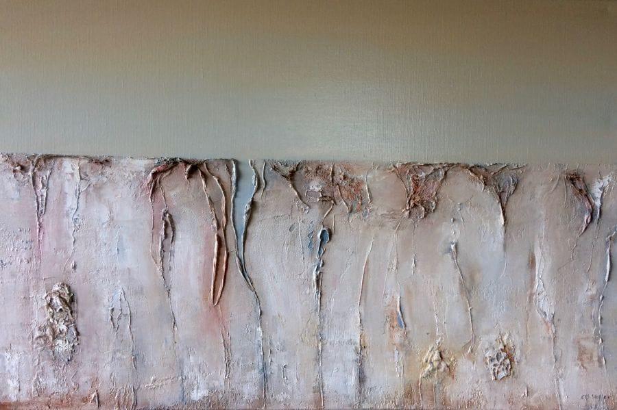 Kunst: Skinny on the edge van kunstenaar Els Vegter