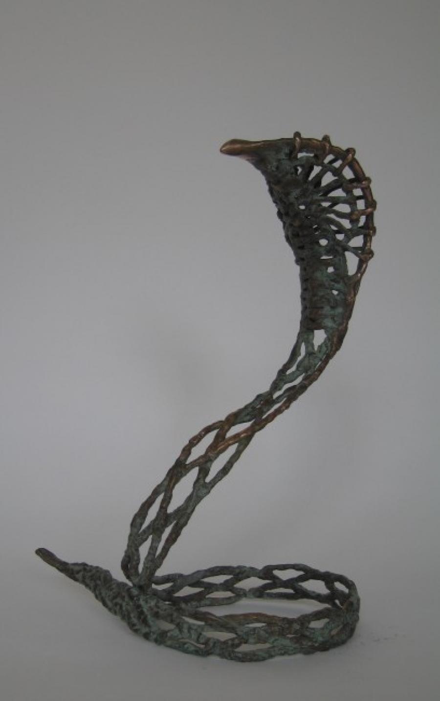 Kunst: Slang (Lintvelt) van kunstenaar Tina Lintvelt
