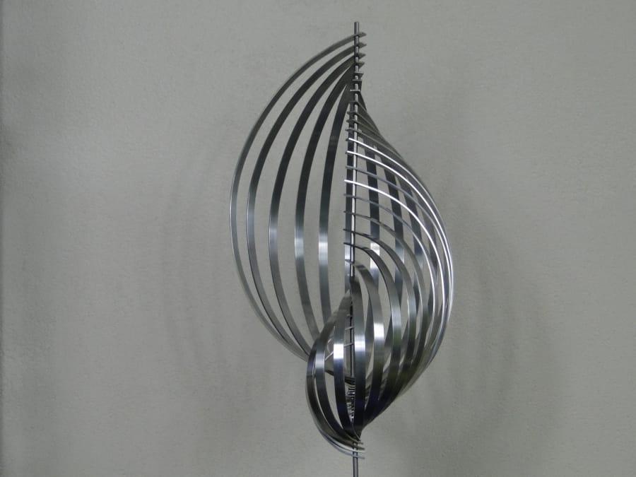 Kunst: Snail-Shell 2 van kunstenaar Bert Verboon