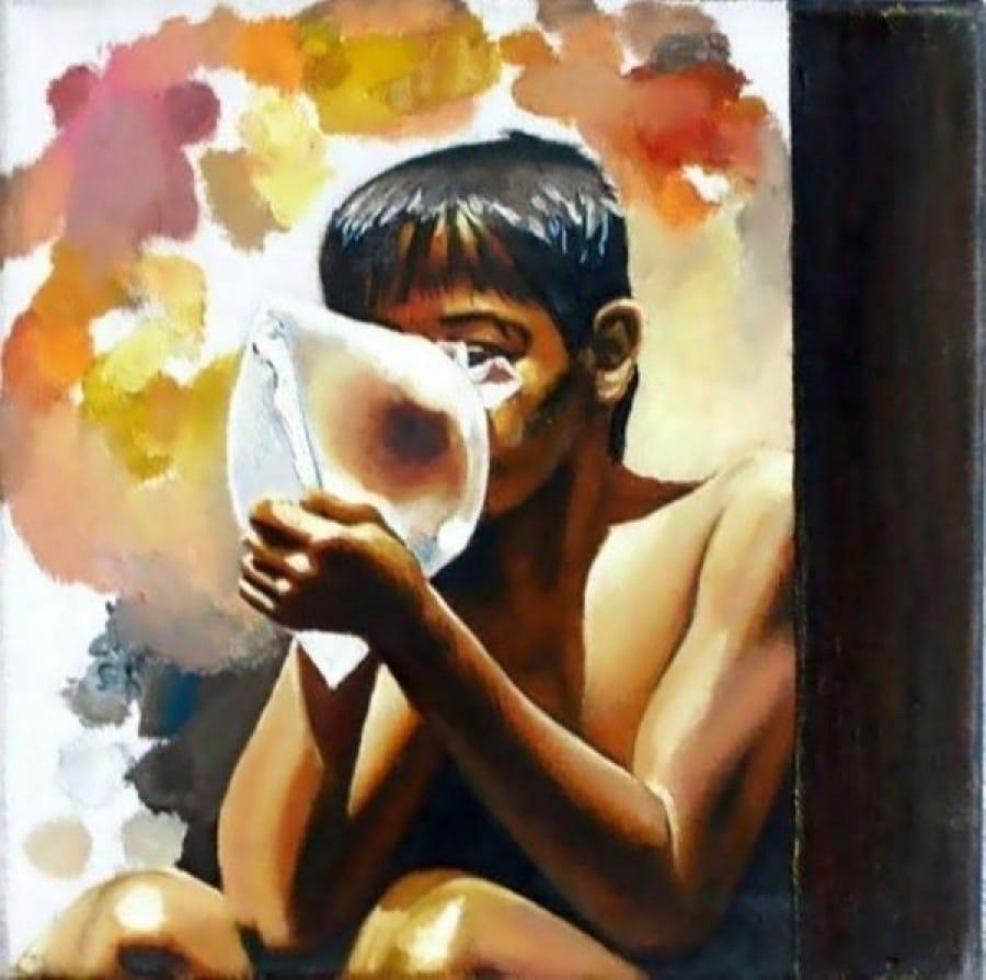 Kunst: Sniff-picture van kunstenaar Leo Wijnhoven