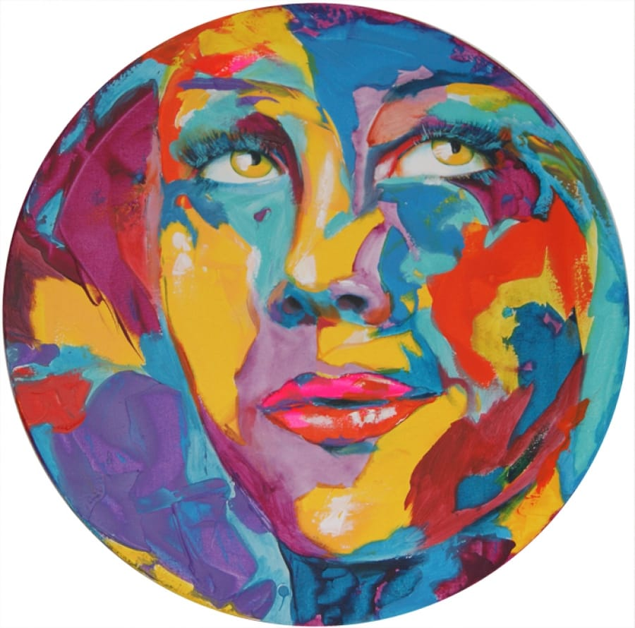 Kunst: So round I van kunstenaar Tamara Sille