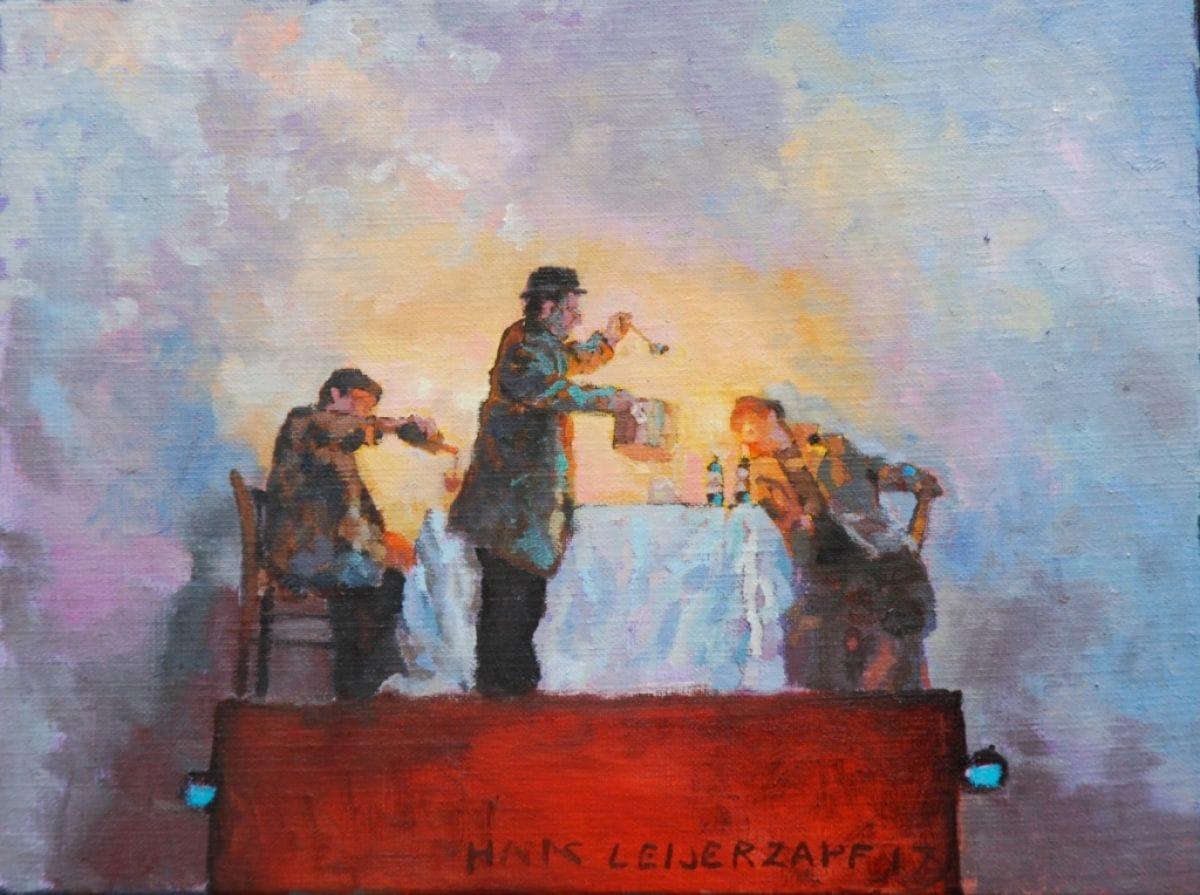 Kunst: Soep vooraf van kunstenaar Hans Leijerzapf