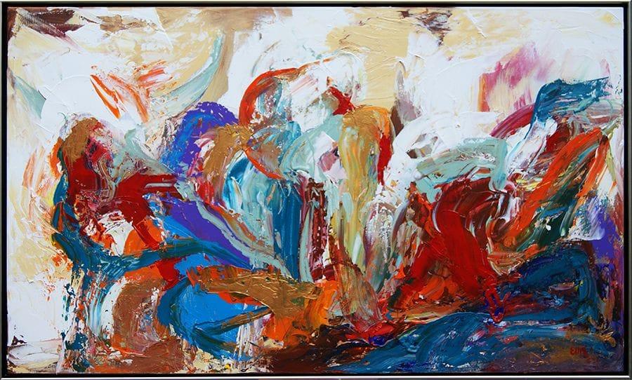 Kunst: Soft tones in infinity van kunstenaar  Ellis