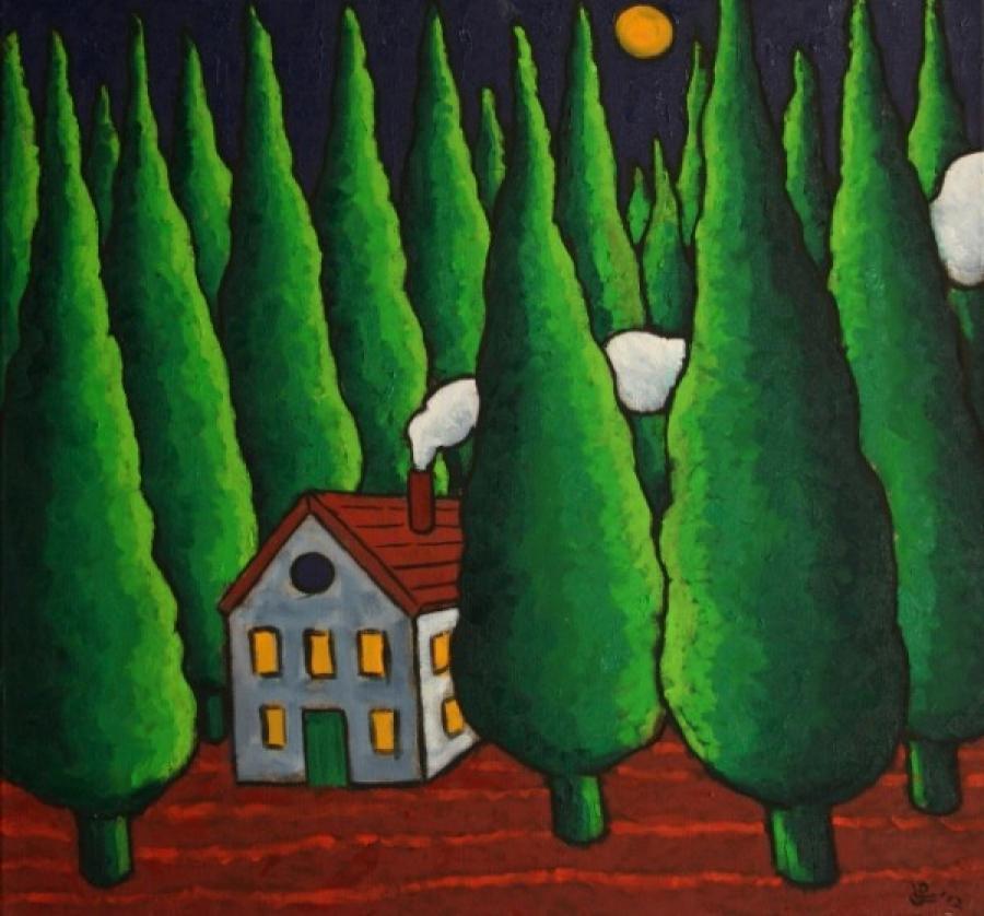 Kunst: Somewhere van kunstenaar Jacques Tange