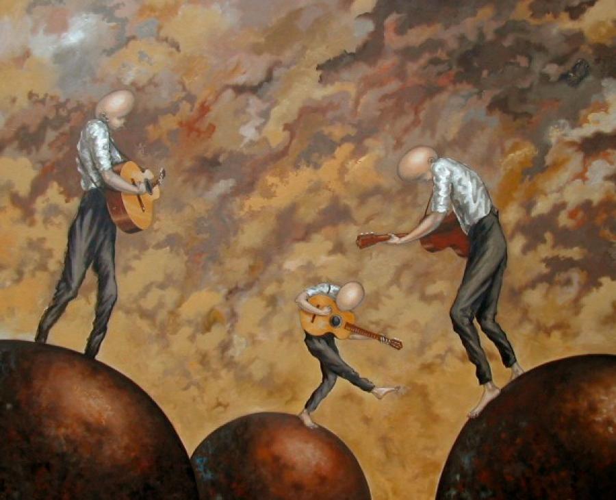 Kunst: Speelmaten van kunstenaar Paddy Spoelder