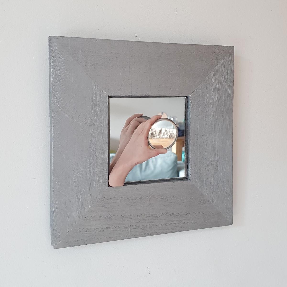 Kunst: spiegeltje spiegeltje van kunstenaar Saskia Hoeboer