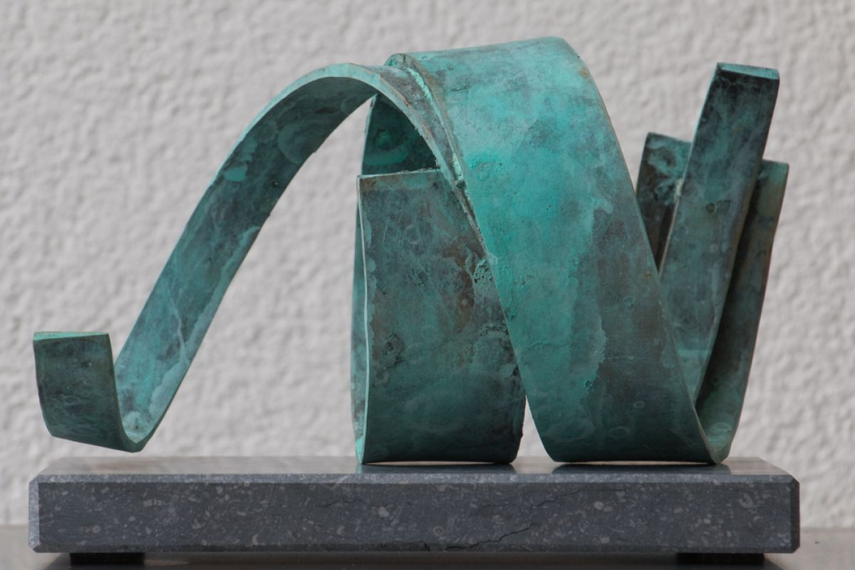 Kunst: Spiral van kunstenaar Monique Lipsch