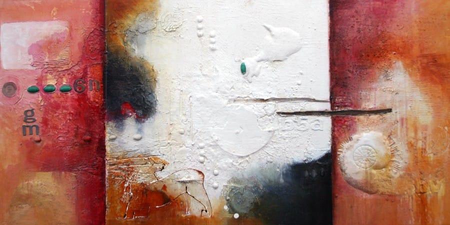 Kunst: Sporen uit 'n ver verleden I van kunstenaar Toos van Poppel
