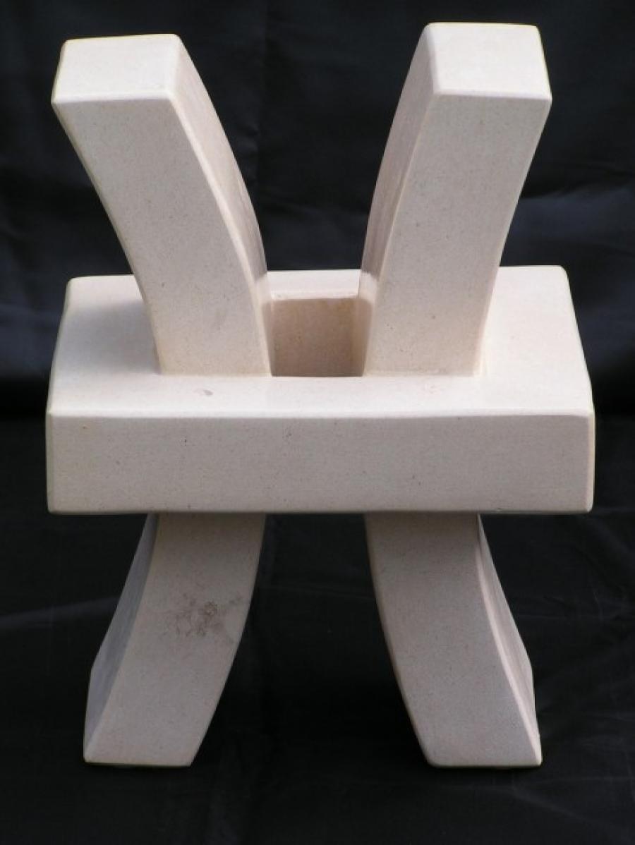 Kunst: Squared X van kunstenaar Bert Verboon