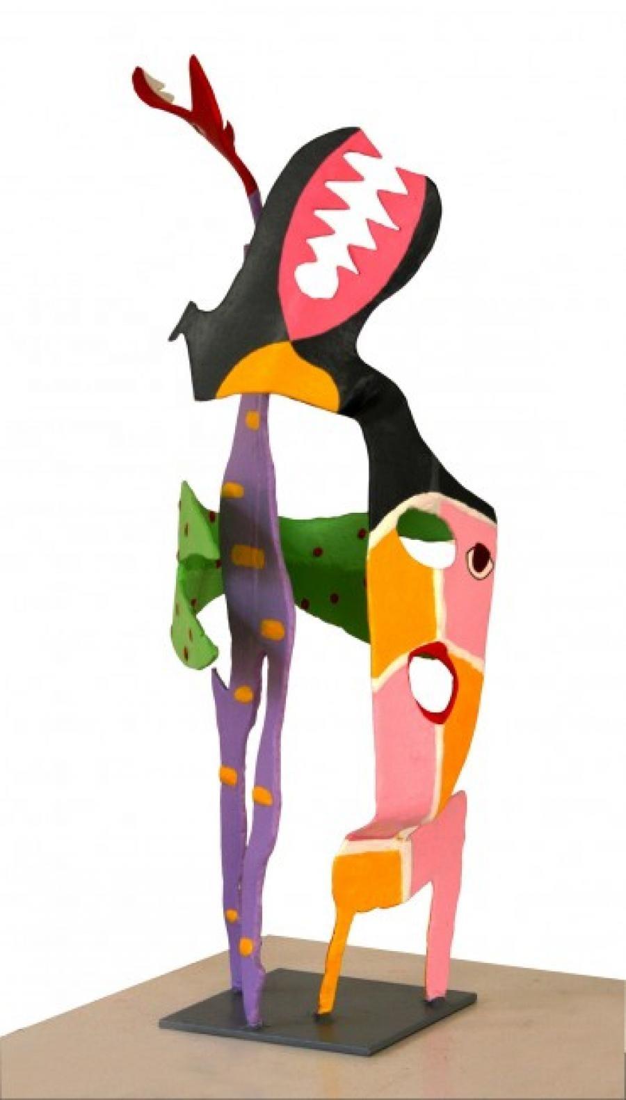 Kunst: Staande figuur 2 van kunstenaar Frans Muhren