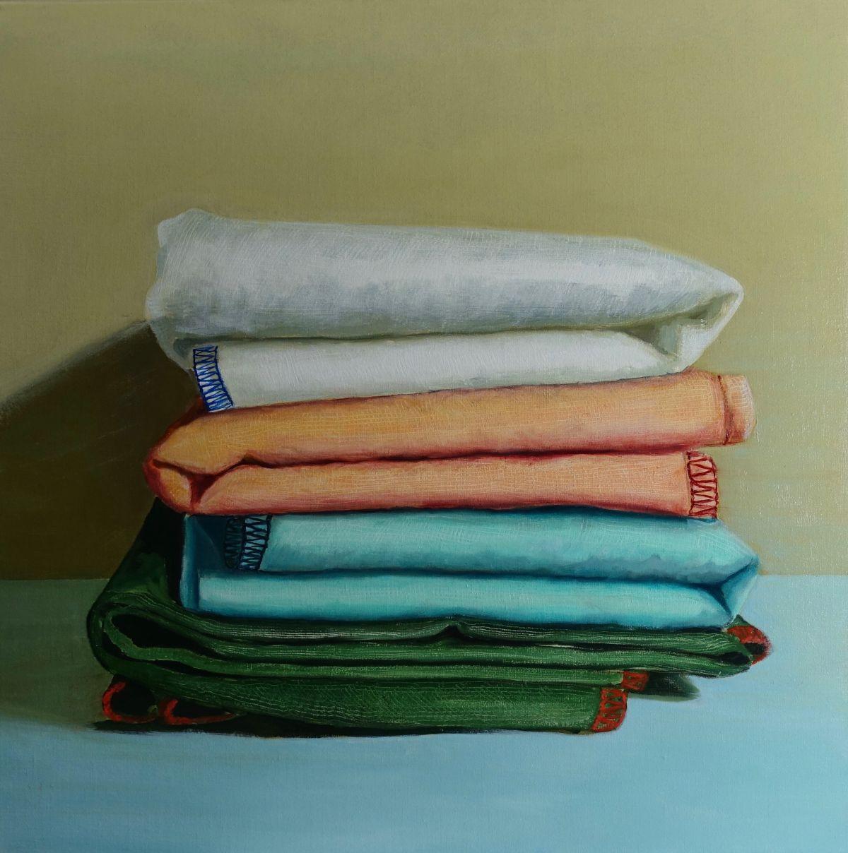 Kunst: Alicante – Cloths van kunstenaar Minke Buikema
