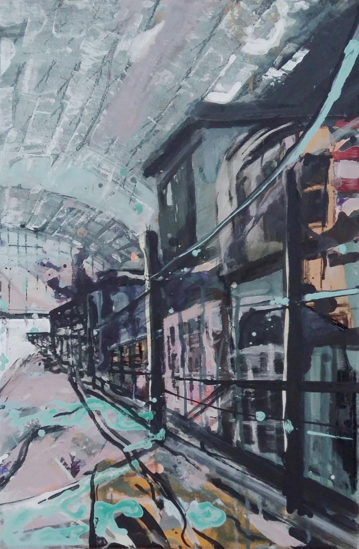 Kunst: Station 2 van kunstenaar Anneke Koster