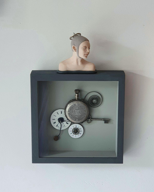 Kunst: steampunk van kunstenaar Saskia Hoeboer