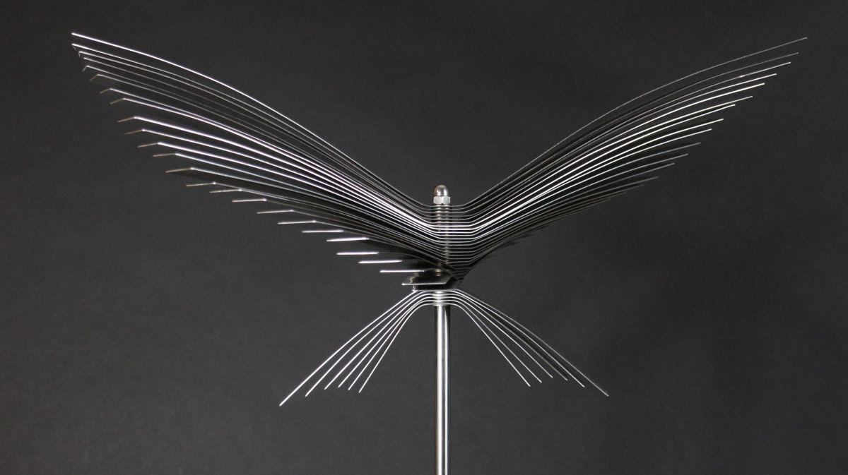 Kunst: Steel Insect van kunstenaar Bert Verboon