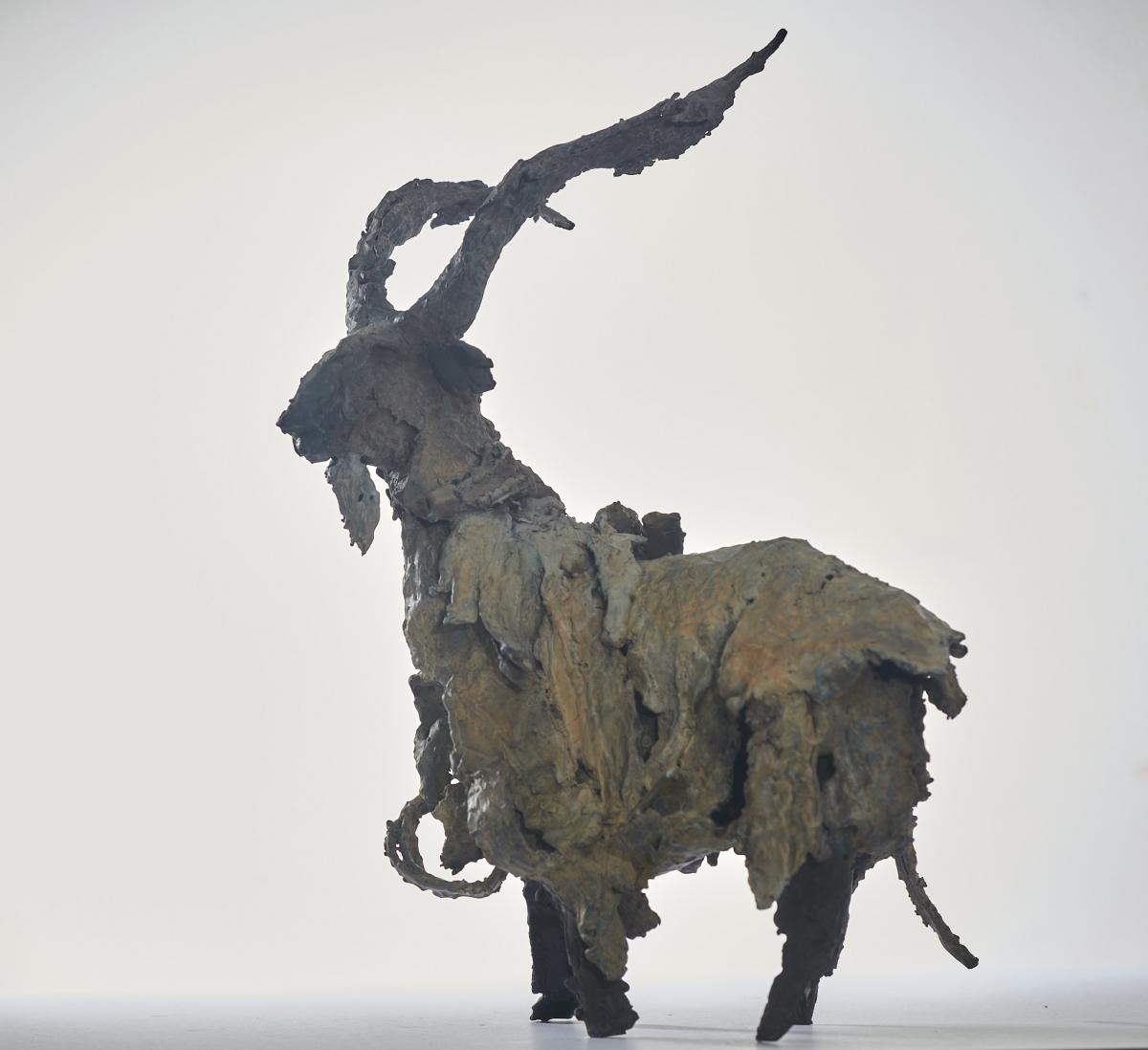 Kunst: Steenbok van kunstenaar Edith Stoel
