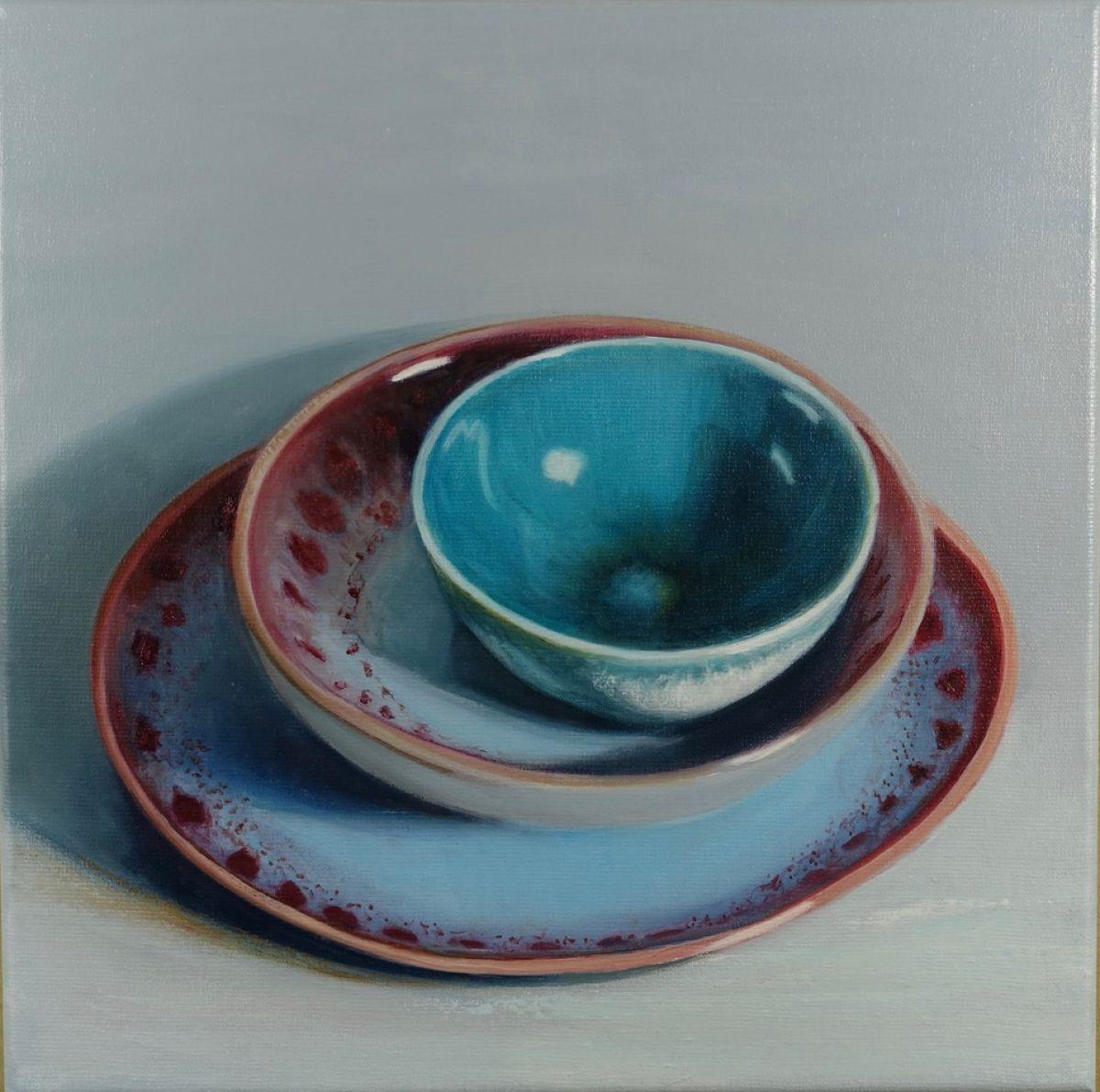 Kunst: Malaga – Tableware van kunstenaar Minke Buikema