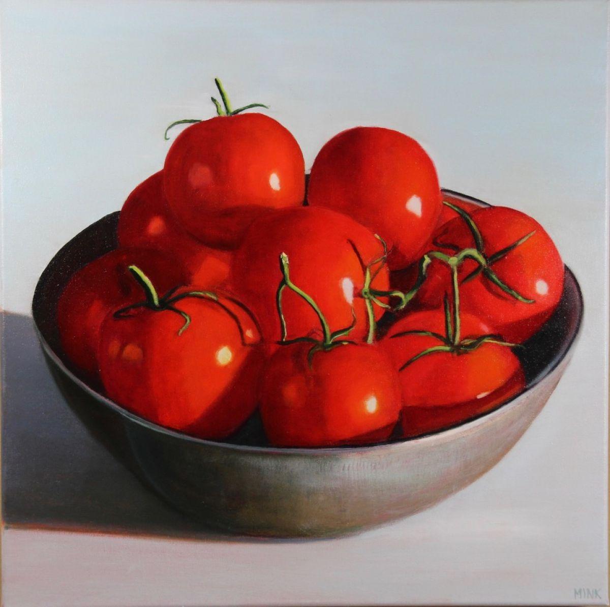 Kunst: Sevilla – Tomatoes van kunstenaar Minke Buikema