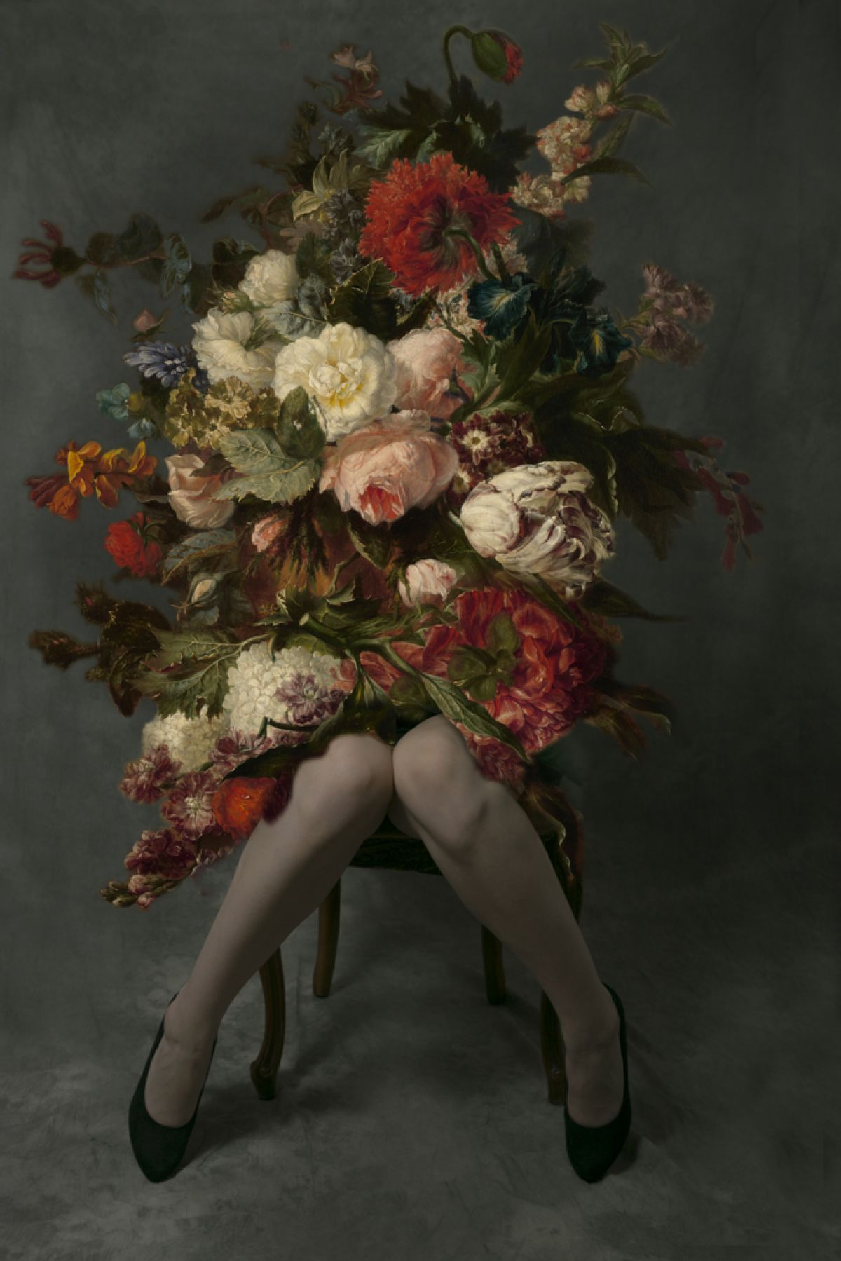 Kunst: Stillife on Legs 02 van kunstenaar Kaat Stieber
