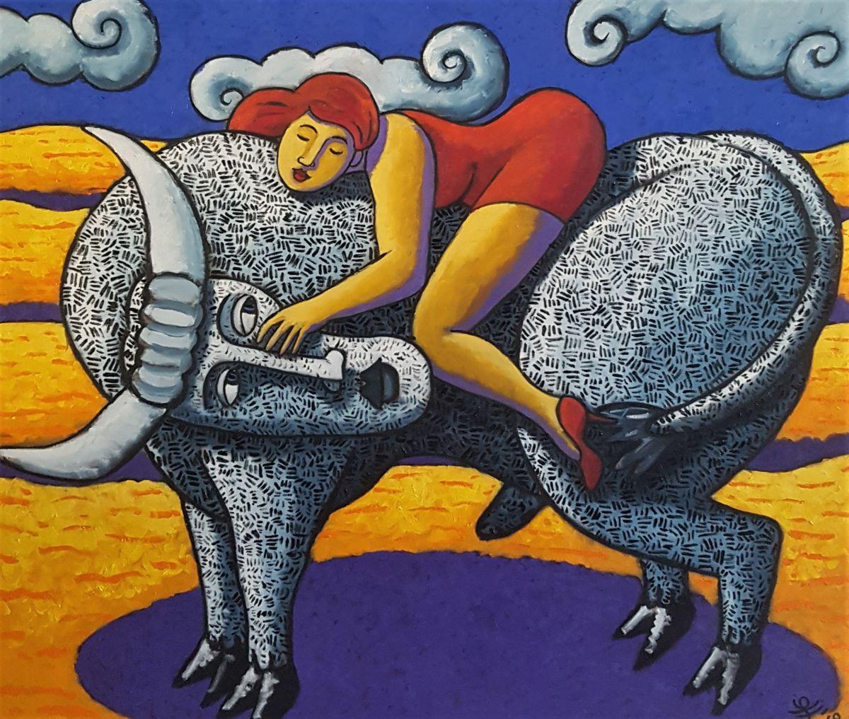 Kunst: Stockholm van kunstenaar Jacques Tange