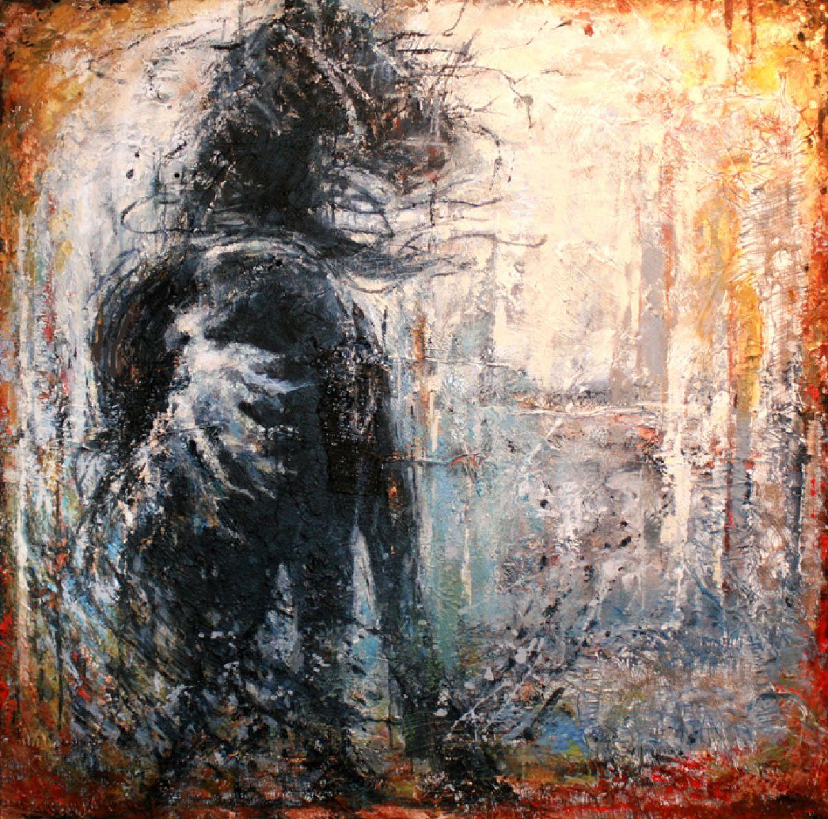 Kunst: Stormy Day van kunstenaar Evelyn Hamilton