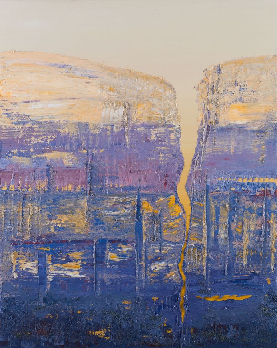 Kunst: Structured and divided van kunstenaar Els Vegter