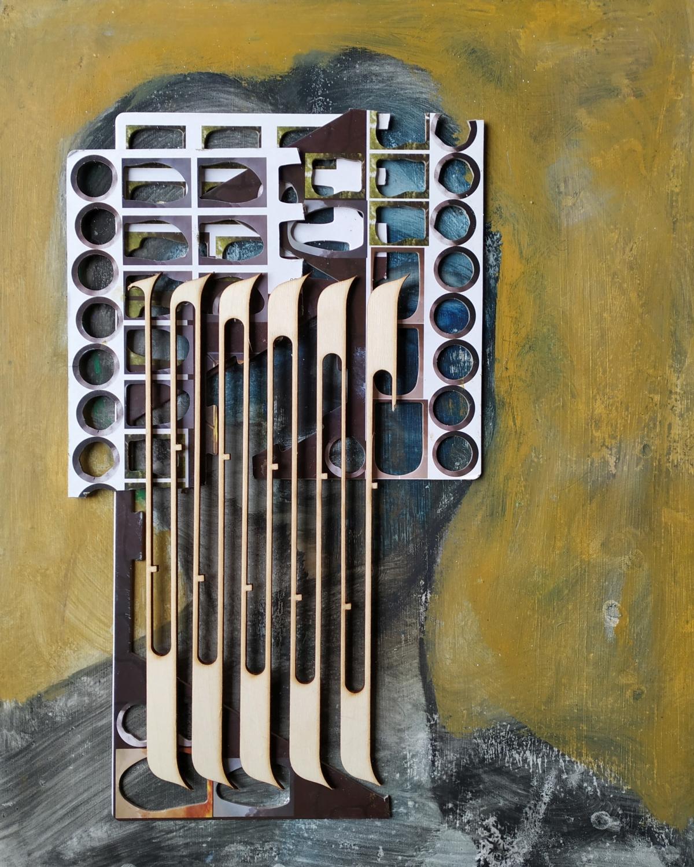 Kunst: Study XXXI van kunstenaar Daniel Martin